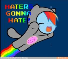 don't hate rainbow dash by savannahthehedgehog1