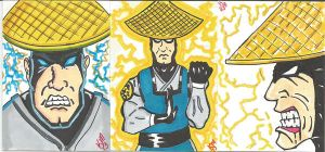Raiden Sketch Cards by kylemulsow