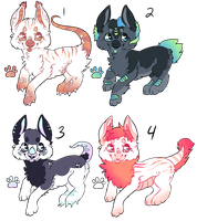 Dragon Doggies - Offer to Adopt - CLOSED by Railguns