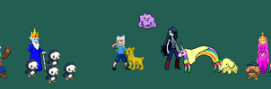 Adventure time - Pokemon edits by KnightArtorius