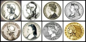 The Night Gallery Coin Series - 2014 by TheNightGallery