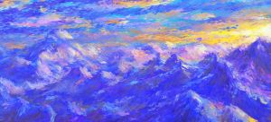 Impressionist Alps by TheMuteRobot