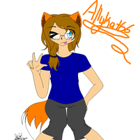 AT: Allykat66 by BluIceyy