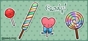 Candy by SquidPig