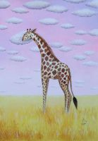 Good Night, Giraffe by IreneShpak