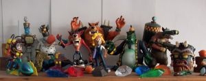 Action Figure Collection Pt2 by Redflare500
