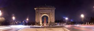 Triumphal Arch Panoramic by ScorpionEntity