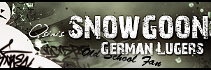 Snowgoons German Lugers by smorba
