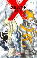 Magik and Cyclops by WeijiC