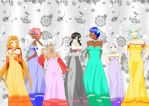 The Dream Queen and her Court by Mikki-of-the-Wind