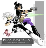 The Phantom Agent - DP x KP by geoffHeaven