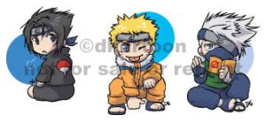 NARUTO - canbadges by dkartoon