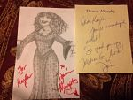 Donna Murphy Autograph by WDisneyRP-Gothel