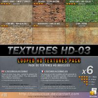 Free Textures : 011-Textures-HD-03 by lasaucisse