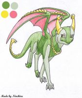 Giravi the Dragon by Ziegthefox2223