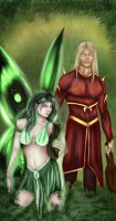 Asterine and Ragno by House-of-Kadamon