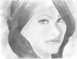 Olivia WIlde Finished Drawing? by KingFromHatena