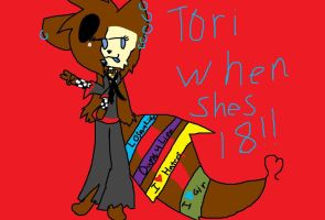 Tori When Shes 18*contest* by flurrythekitty15