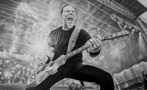 My friend of Misery (James Hetfield) by tubyx