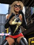Ms Marvel pose 03 by DahriAlGhul