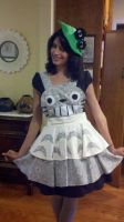 Totoro Cosplay Apron and Hair Accessory by DarlingArmy