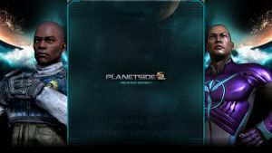 NC / VS - Planetside 2 - YouTube Background by MiniDudeMD
