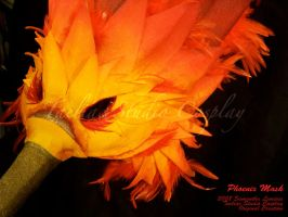 Phoenix Mask - Detail 1 by taeliac