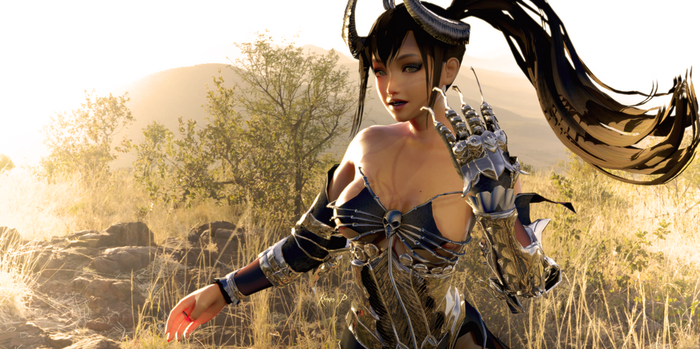 Naotora - Harsh Lighting Skin test by Konos-P