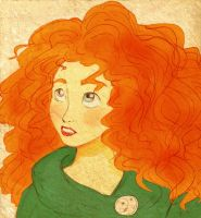 Merida by clwnprincessofcrime