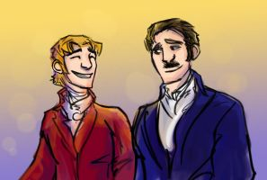 Chagny Bros by theTieDyeCloak