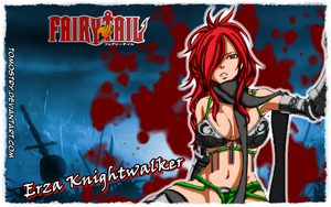Erza Knightwalker - Fairy Tail by TomOstry