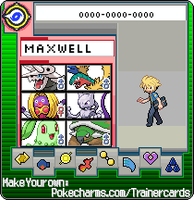 maxwell my youngest trainer by Lilliathesexyflygon