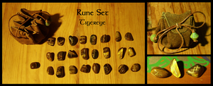 Rune Set Tigereye SOLD by Siobhan68