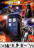 Dr Who Poster by chinoiserie