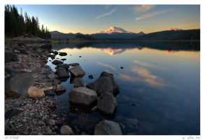Elk Lake by wafox