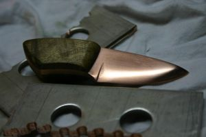 Copper Finger Blade by Tigermano