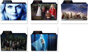Once Upon A Time Folder Icons by nellanel