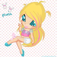 Flavia, Pixie of Cute Things by winxchara