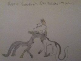 Happy Valentine's Day, Kodiak by WolfAdemius