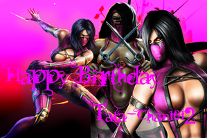 Happy Birthday Tati by IamSubZero