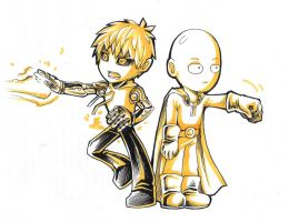 One Punch Man! by Z-N-K