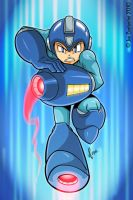 Mega Man Rocks by 2Ajoe