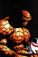 The Thing from fantastic 4 by flaminphoenixrlzusll