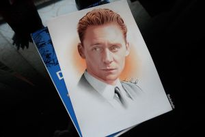 Happy bday Tom Hiddleston by anokaxlegolas
