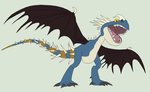 HTTYD Base 6~Deadly Nadder 1~ by Xbox-DS-Gameboy