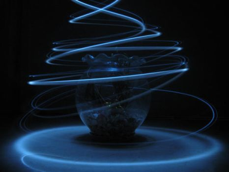 Light painting by therookie007