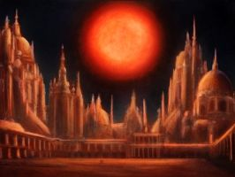 The Magician's Nephew: The Dead World of Charn by ElectricalBee