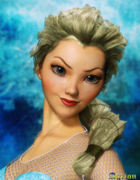 The Snow Queen by Agr1on