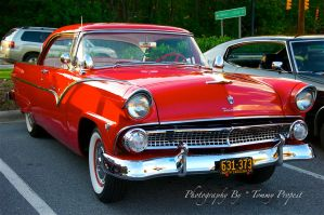 1955 Ford Fairlane  #0372 by TommyPropest-Candler