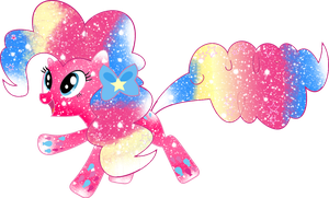 Galaxy Rainbow Power Pinkie Pie by DigiTeku